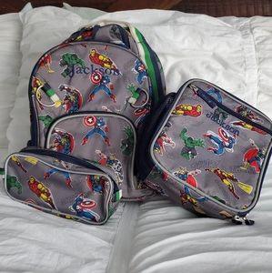Pottery Barn Super Heroes Bookbag Bundle